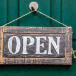 Wir haben weiterhin geöffnet!